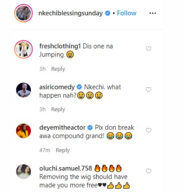 'Don't Break The Ground Please' – Fans Mock Nkechi Blessing For Doing This (Video) 1