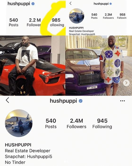 Hushpuppi Gains Over 200K New Followers On Instagram Since His Arrest 1