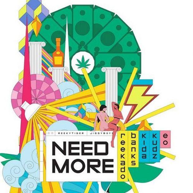 Download Reekado Banks Ft. Kida Kudz and EO – Need More