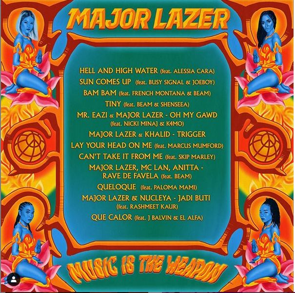 Joeboy Featured On Major Lazer's Forthcoming Album