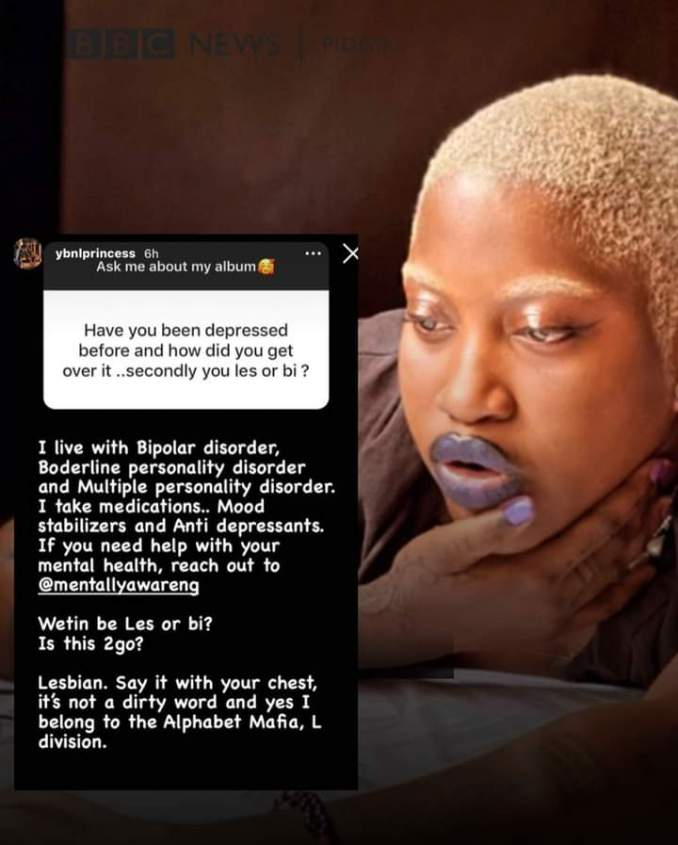 It Seems Temmie Ovwasa (YBNLPrincess) Is No Longer With YBNL Nation – Currently Suffering From Bi-polar Disorder (See This)