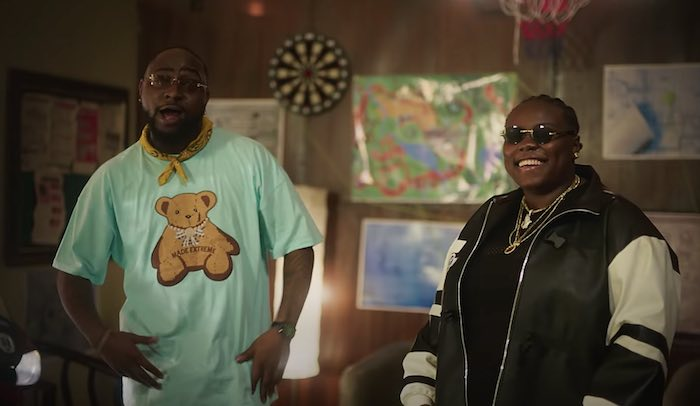 Teni Ft. Davido – For You Mp4 download