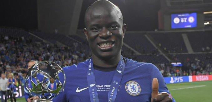 Chelsea Star Kante Speaks On Winning Ballon d'Or (See What He Said)