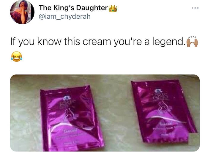 If You Know This Cream, You're A Legend
