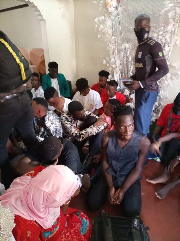Police Arrests 44 At Gay Traditional Marriage2