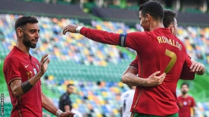 [Goals Highlight] Portugal 4 – 0 Israel (Watch Here)