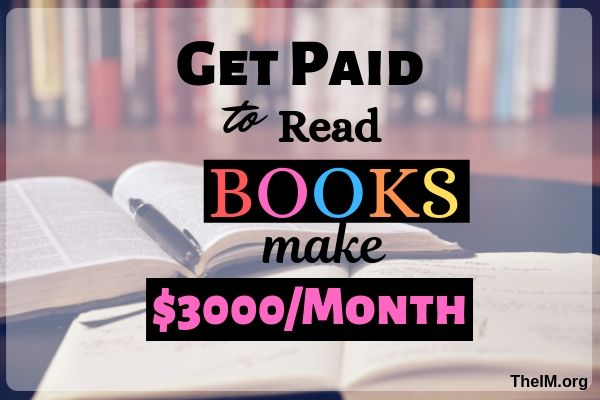 How to make money reading books online