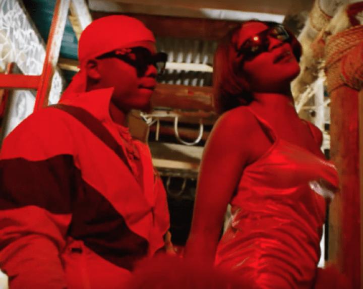 Seyi Shay ft. Harmonize - Koma Roll music video