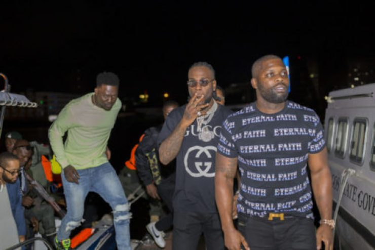 The African Giant Celebrates His Global Acclaim And Success With A Private Album Release Party In Lagos: Africa's Largest City