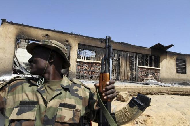 Nigeria Military Presently In Fierce Gun Battle Against Boko Haram In Borno
