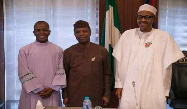 Image result for Nigerians Should Thank God For Giving Us Buhari – Mbaka