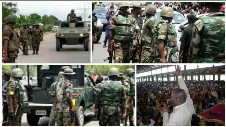 Soldiers storm Assemblies of God Church in Yola over crisis