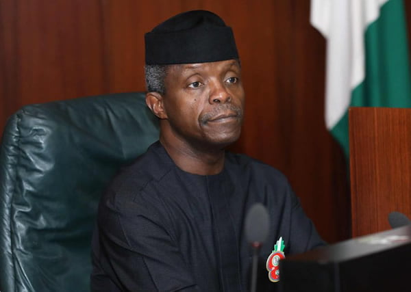 Acting President Osinbajo 2017 budget for 'consideration'