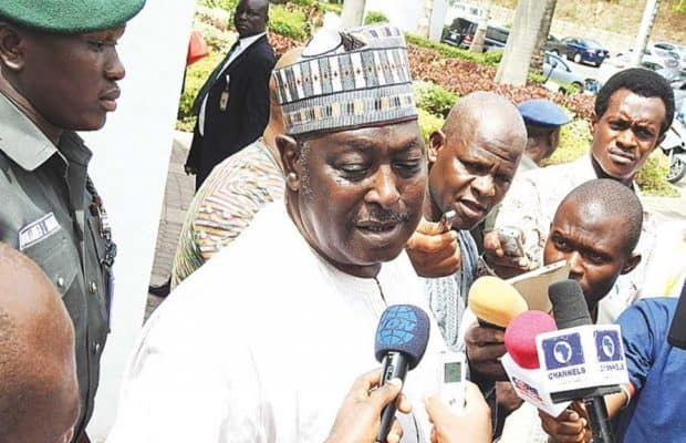 Image result for Why sacked SGF, Babachir Lawal was in Aso Rock