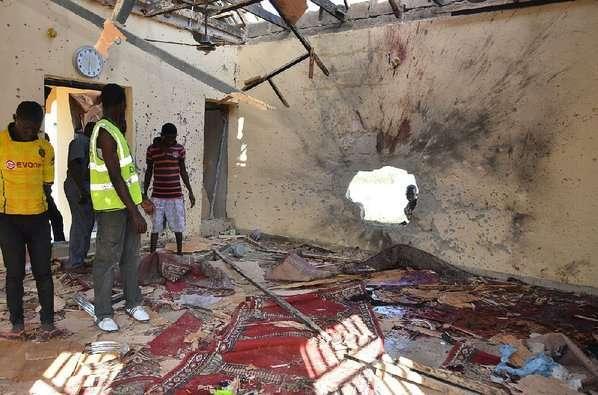 Bomb blasts in Mubi town, Adamawa.