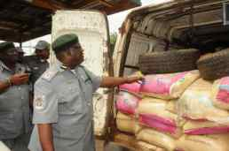 Image result for Customs seizes 240 bags of foreign parboiled rice