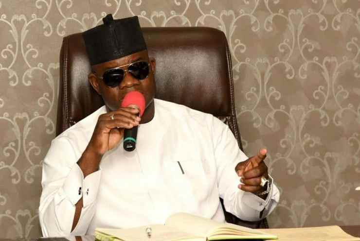 COVID-19: Yahaya Bello Reveals Fund Collected From Buhari, World Bank By Governors
