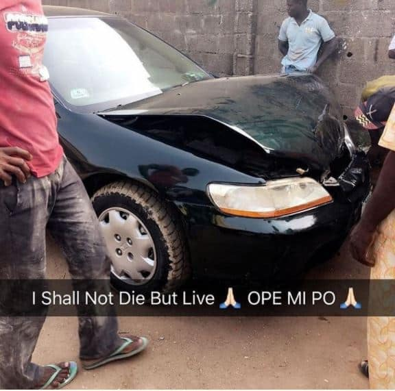 Nollywood Actress Yetunde Bakare Survive Motor Accident | Photos
