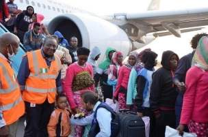 Image result for 249 more Nigerians repatriated from Libya