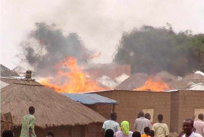 Image result for Some IDPS DIE IN Fire Outbreak