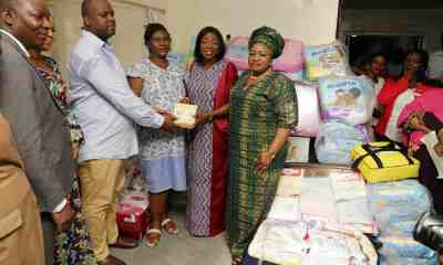 Bolanle Ambode To Pay N500,000 Monthly To Family Blessed With Quintuplets