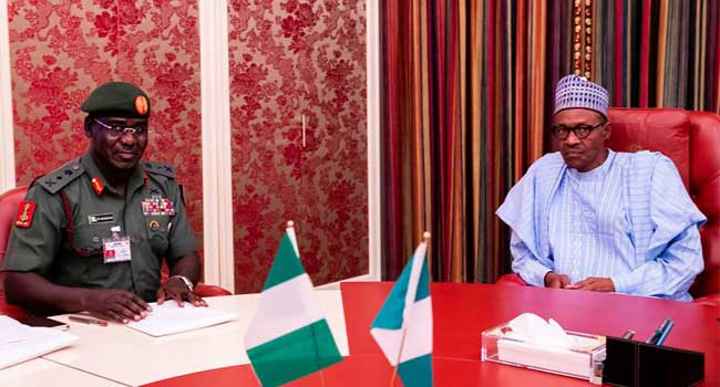Image result for My administration is committed to establishing peace and security in Nigeria – Buhari