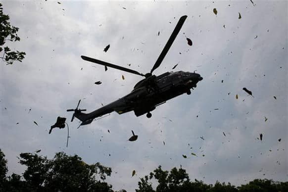 Nine Persons Killed As Two Military Helicopters Crash