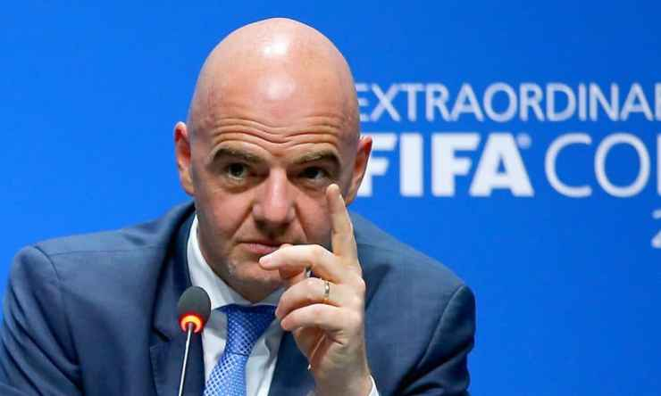 FIFA President,Infantino,Tests Positive For COVID-19