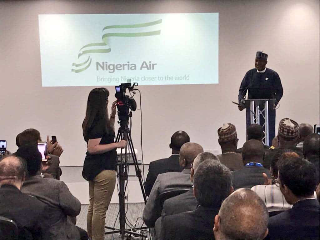 Image result for Nigeria unveils name of national carrier, logo
