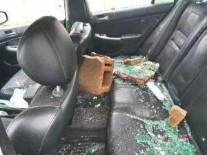 Bindow Thugs 1 - #ENDSWAT: Man Shed Tears As Hoodlum Destroy His Car In Abuja, See Video