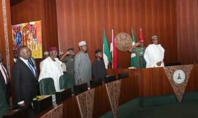 Kyari, Monguno In Attendance As Buhari Presides Over FEC