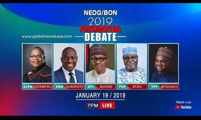 2019 Presidential Debate: Naija News Monitoring Room/Live Reports