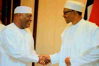Image result for Buhari Defeats Atiku