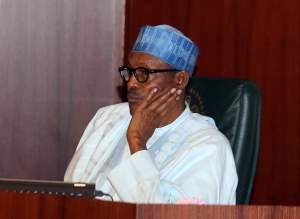 Buhari sad 1 - #EndSARS: Your Silence Is Not Golden, Address Nigerians Now – CNPP Tells Buhari