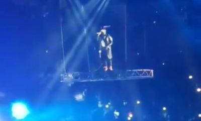Watch Davido's Epic Entrance At The 02 Arena