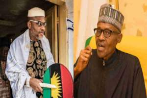 Biafra: Nnamdi Kanu Reacts To Buhari's National Broadcast On COVID-19