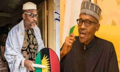 Biafra: Nnamdi Kanu Tables Fresh Request Before Buhari, Says 'This Is What Biafrans Want'