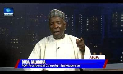 Video: FG Paid LGs N45m To 'Purchase' People For Buhari's Rallies - Buba Galadima