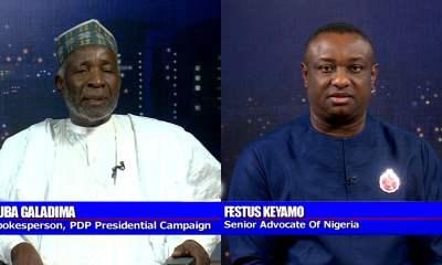 Nigerians React As Buba Galadima Knocks Keyamo On #PoliticsToday