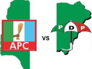 APC and PDP in Nigeria - Onochie: APC Defends Buhari, Lists PDP Members That Are Also INEC Commissioners