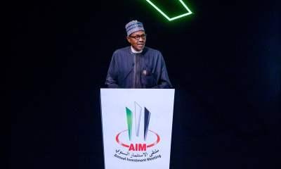 What Buhari Said At The Annual Investment Meeting In Dubai