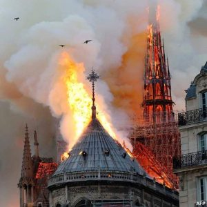 Fire Guts Notre Dame Cathedral, Paris Skyline Altered (Video/Photos)