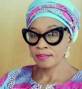 Kemi Olunloyo Begs Buhari For Appointment As 'Next Level' Commences