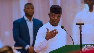 Osinbajo speaks 2 - #ENDSARS:Take Charge Of Police Tactical Unit In Your State -Osinbajo Tells Nigerian Governors