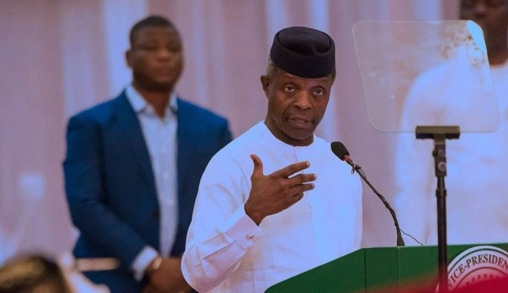 #ENDSARSs:Take Charge Of Police Tactical Unit In Your State -Osinbajo Tells Nigerian Governors