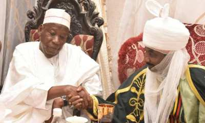 Nigerians React As Ganduje Dethrones Sanusi As Emir Of Kano