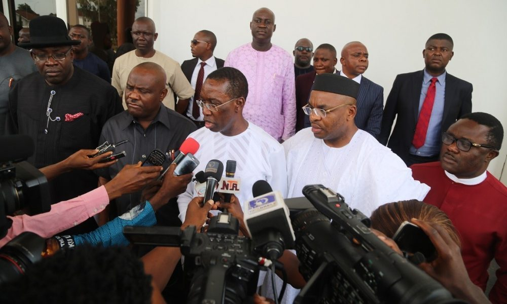 Sanwo-Olu, Fayemi, Wike, Others Storm Delta As Southern Governors Meet