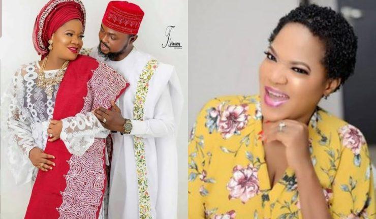 Toyin Abraham Reacts As Yomi Fabiyi Publicly Rubbishes Her Husband, Kolawole Ajeyemi Over 'Oko Iyabo'