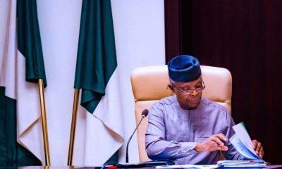 Breaking: Vice President Osinbajo Waives Immunity To Clear Name On Fraud