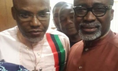 Biafra: Trouble Looms For Abaribe As Presidency Revisits 'Romance With Nnamdi Kanu'